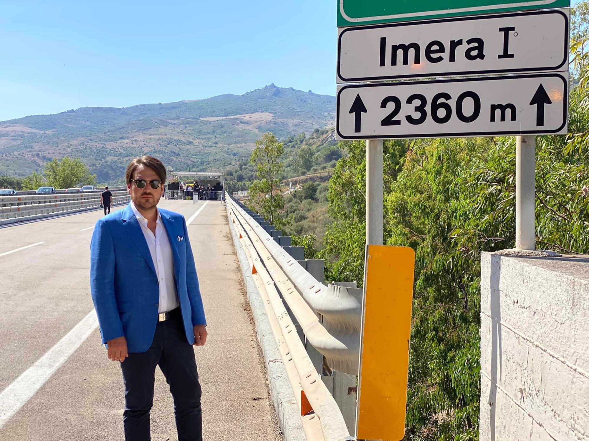 Inaugurazione del ponte Himera
